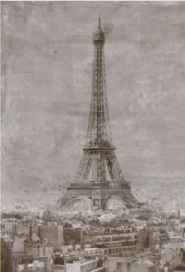 Eiffel torony szett 60X90 cm